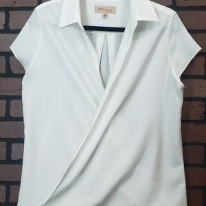 Philosophy short sleeve blouse